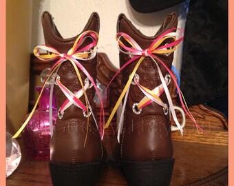 Baby rhinestone cowboy boots