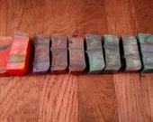 11 ribboned acrylic pen blanks
