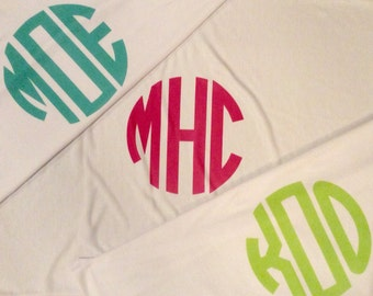 Personalized Monogrammed Pillowcase