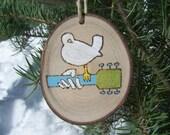 ASPEN Wood Slice Ornaments | Woodstock ornament