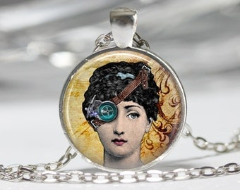 Steampunk Jewelry Steampunk Neckace Steampunk Woman