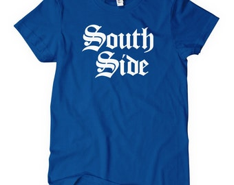Women's South Side Gothic Tee - South Side Ladies' T-shirt - S M L XL 2x - 4 Colors