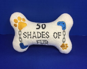 Dog Bone Toy 50 Shades of Fur