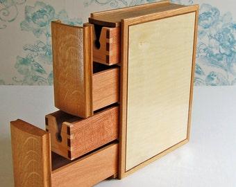 Book style keepsakes box.