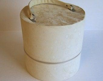 Vintage Ivory Wig Case