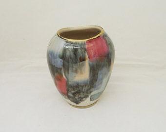West German Mid Century Vase, Porcelain West German Small Vase, UK Seller