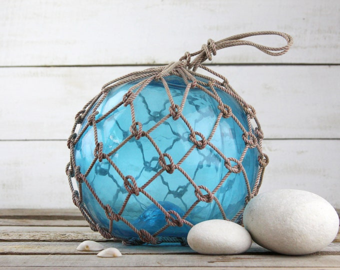 Blue Big Vintage Fishing Float by SEASTYLE