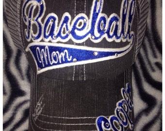 Custom Baseball Mom Hat