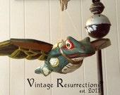 Vintage Flying Frog