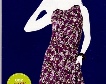 Simplicity 1987 Sewsimple Misses'  PULL-OVER DRESS Misses Size 10-18 Uncut Factory Folded