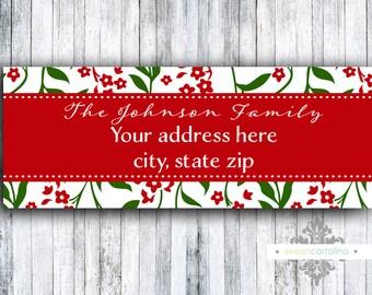 Return Address Labels - Set of 60 - Joyful Branches