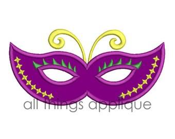 Mardi gras mask | Etsy