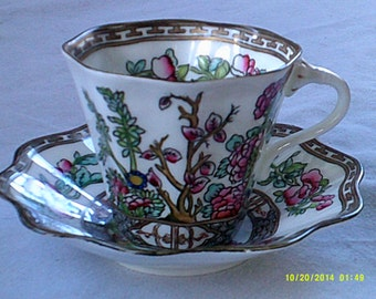 Coalport Tea Cup and Saucer
