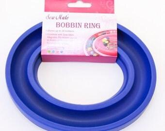 Bobbin Storage, Sewing Bobbin Holder, Blue Bobbin holder Sew Mate, Sewing Accessory, Craft Supply