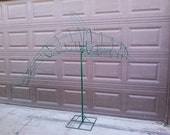 Dolphin Topiary Frame 7 Foot Long