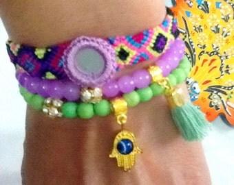 SALE--------GYPSY  TEARS  bracelet - bohemian bracelet- ethnic bracelet Bollywood bracelet - gypsy jewelry