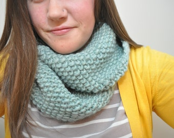 Infinity Scarf (Smaller Width|Less Chunky) Low Tide