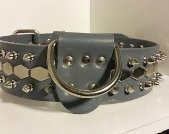 Gray Dog Colar Snake Studs