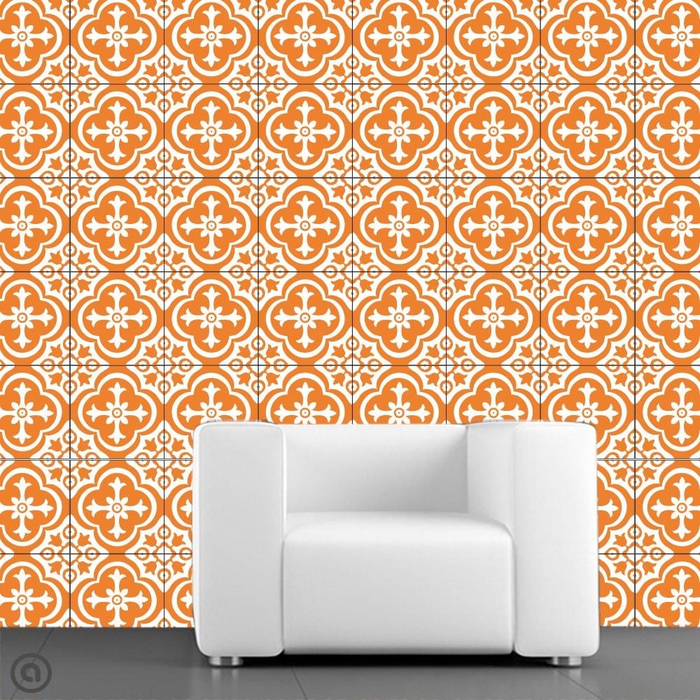 removable wallpaper parliment tile peel stick self. Black Bedroom Furniture Sets. Home Design Ideas