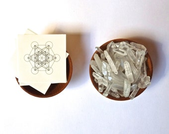 TEMPORARY TATTOO --- Metatron's Cube--- Sacred Geometry--- stocking stuffer