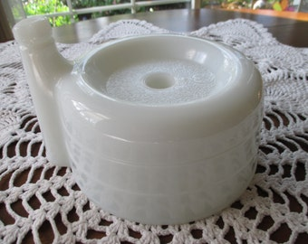 Vintage G.E. Milk Glass Juicer Attachment