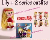 Save for Lily Promotion3: Changeable Clothes Crochet Doll and 14 styles Outfits Pattern ( PDF only )