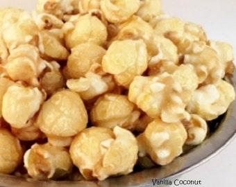 VANILLA COCONUT Freedom Snacks Gourmet Handcrafted Popcorn