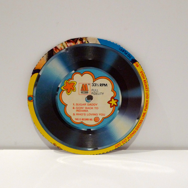 Jackson Five Record Vintage Alpha Bits Cereal Box Record 1970s
