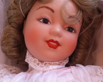 """Bride Doll by Maud Humphrey Bogart - 1988 """"Playing Bride"""""""