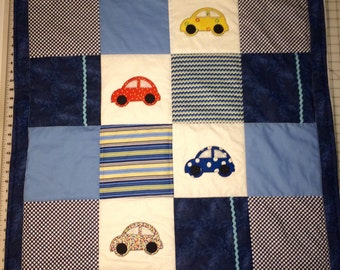 Made to order. Car baby quilt