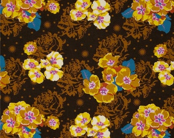 Anna Maria Horner - Free Spirit Fabric - Pretty Potent - Primrose - Golden - Choose Your Cut-1/2 or Full Yard