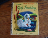 The Ugly Duckling Walt Disney Little Golden Book