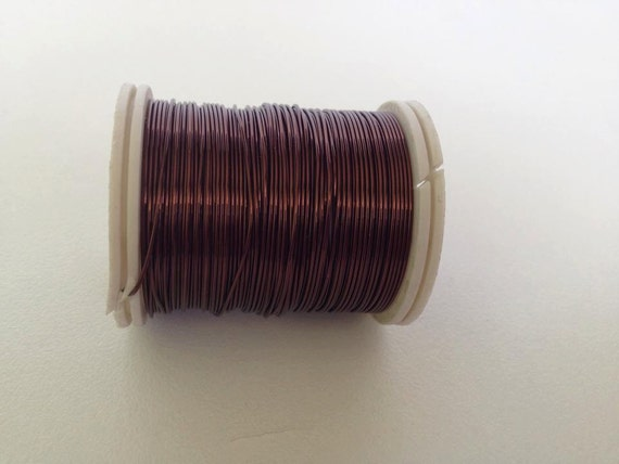Craft supply copper wire 24 gauge wire brown craft wire 18 for 24 gauge craft wire