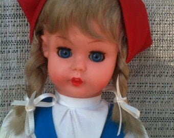 "11"" German made vinyl doll"