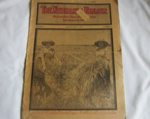 The Nebraska Farmer July 7, 1923 Old Vintage Antique Newspaper 1920s Ephemera