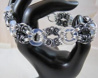Imperial Glass Byzantine Bracelet