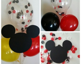 Mickey/Minnie Mouse Balloon Centerpiece