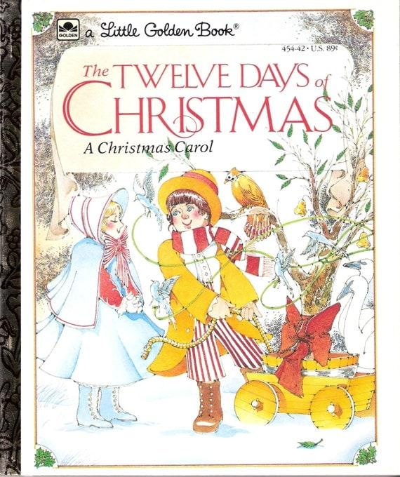 Twelve Days Of Christmas Carolers: The Twelve Days Of Christmas A Christmas Carol Vintage