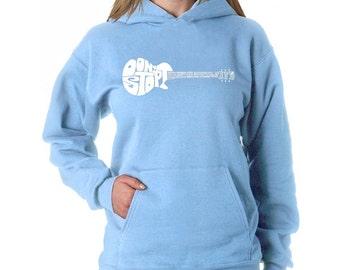 Women's Hooded Sweatshirt - Don't Stop Believin'