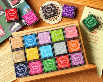 DIY Scrapbook Ink Pad Mini Set -  Multi Color (Set of 20 Colors)