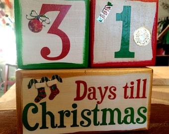 Countdown to Christmas Blocks!