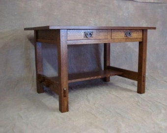 Stickley 675 Desk Mission Arts & Crafts - Reproduction Furniture Free Shipping
