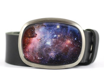 Space belt buckle, Galaxy belt buckle, space accessory, womens belt buckle, gift for her, christmas gift