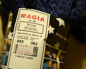 Adriafil Magia mega chunky yarn - made in Italy - SALE - 200 g skein - only 15.99 USD instead of 21 USD