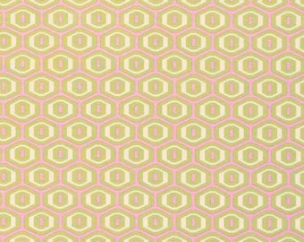 1 yard Honeycomb Fabric in Ivory - Midwest Modern 2 by Amy Butler