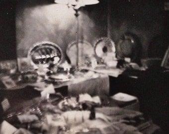 Original Antique Photograph Strange Abstract