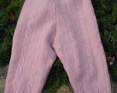 Repurposed Wool Longies / Pants - Size 12 -18  Months