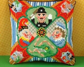 Punch & Judy Mini Cushion Cross Stitch Kit