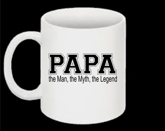 popular items for mug papa on etsy. Black Bedroom Furniture Sets. Home Design Ideas