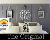 """18"""" Wooden Monogram-Ready to Paint-Monogram your Home"""